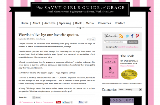 The Savvy Girl's Guide to Life