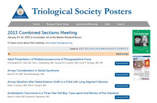 Triological Society Posters
