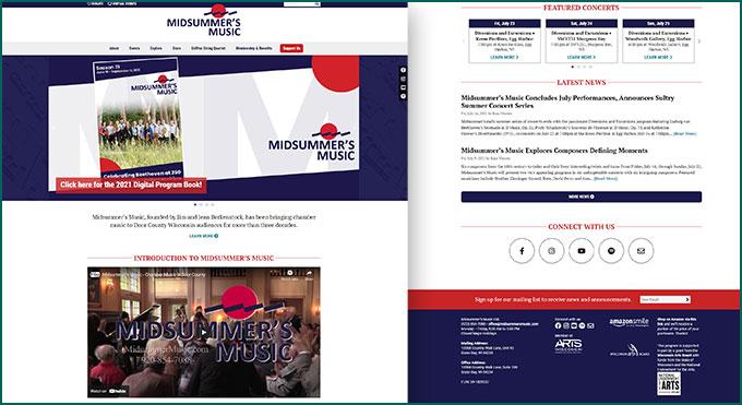 Midsummer's Music web site